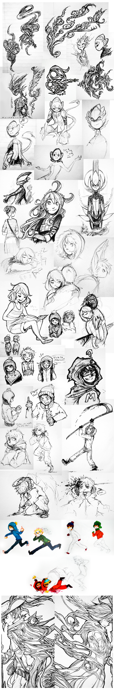 Doodle Page - 25 by Tuooneo