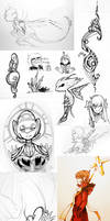 Doodle Page - 30 by Tuooneo