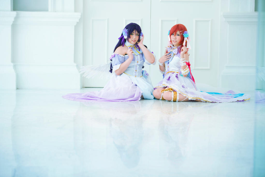 LoveLive! Whites Day Maki and Nozomi by WatermelonDreams