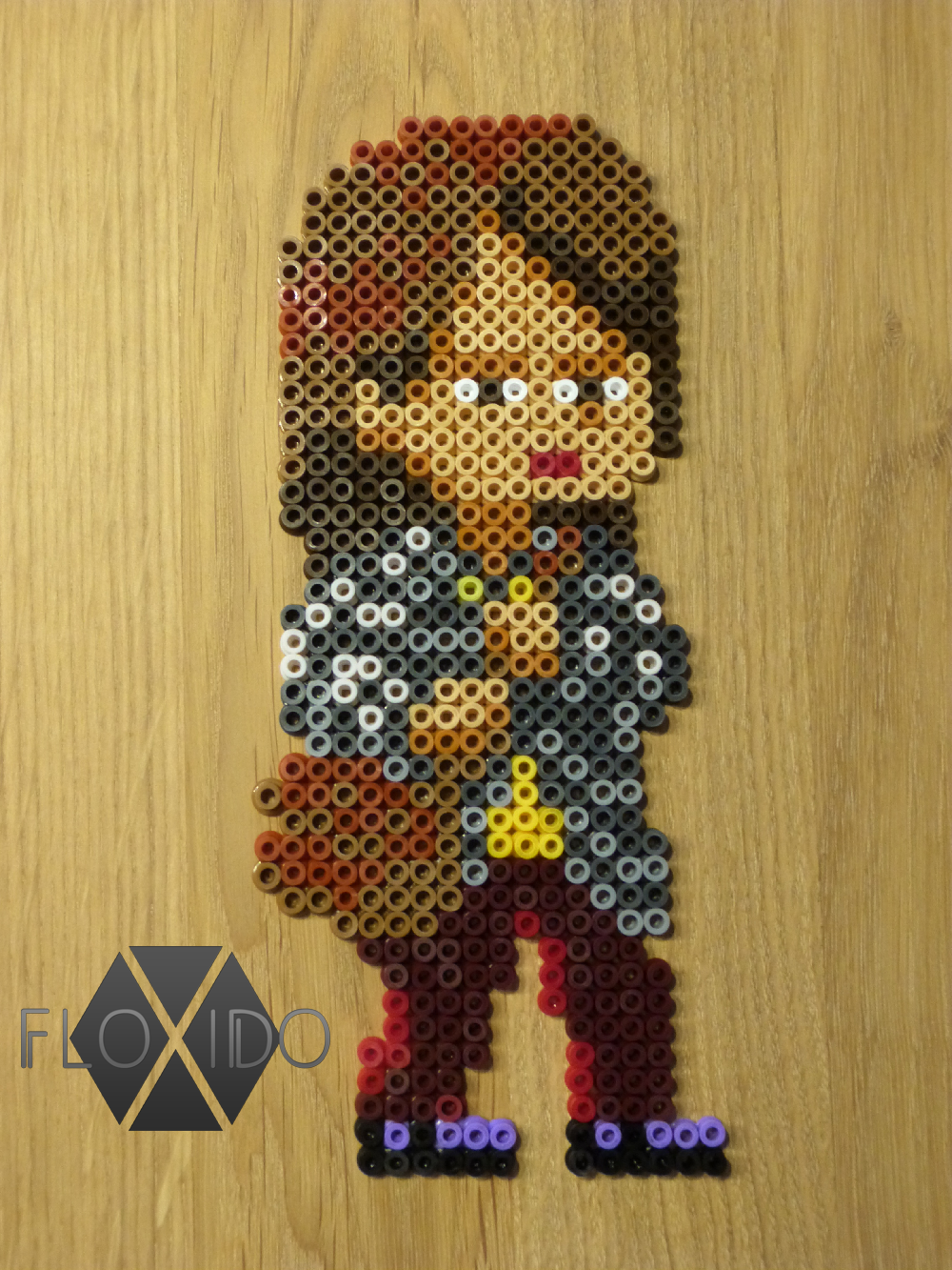 April Ludgate - Hama, Perler and PP beads by floxido