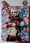 Harley Quinn - Hama, Perler and PP beads