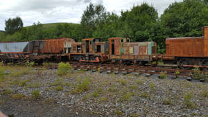 Rusted Train by Millie-Mops-Stock
