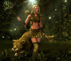 The Huntress by Karaliina