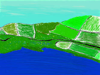 Landscape, tablet attempt