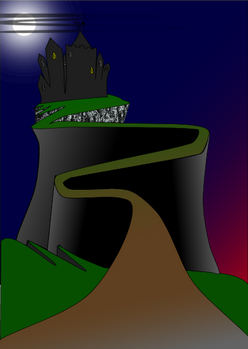 Evil Castle on the hill