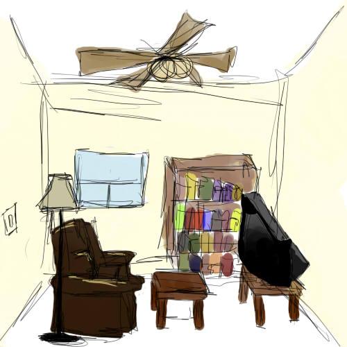 SCP-002: The Living Room By PenadoxBlackmoon On DeviantArt
