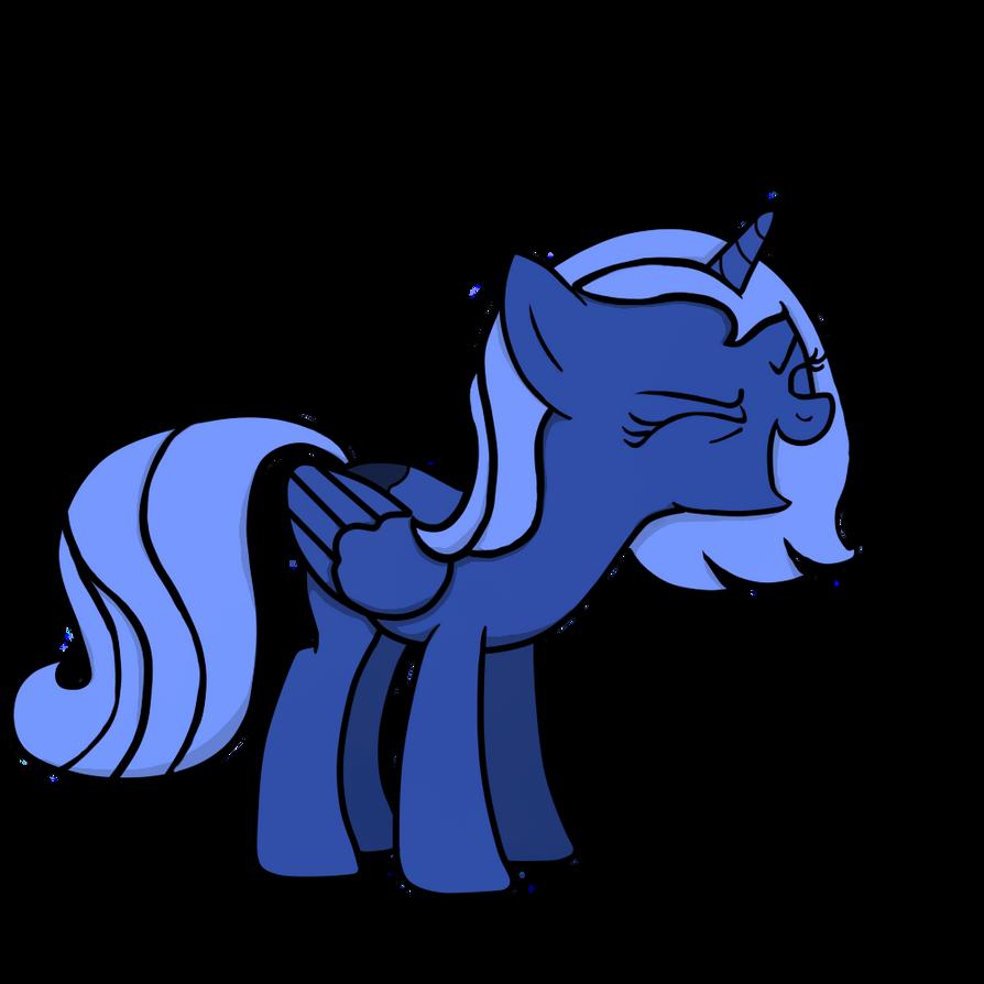 Luna says Yay! by PenadoxBlackmoon