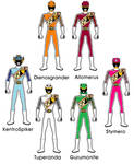EX Kyoryuger Zyudenryu Members