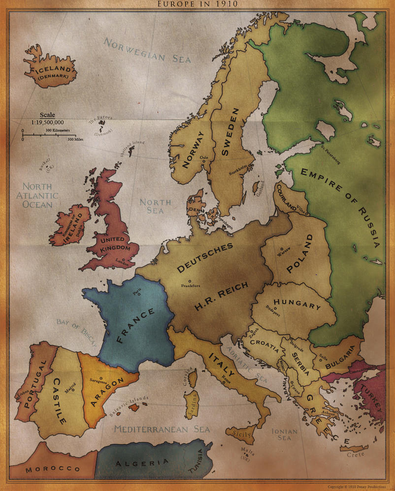 DoD Fan Map: Europe by Alt-Reality