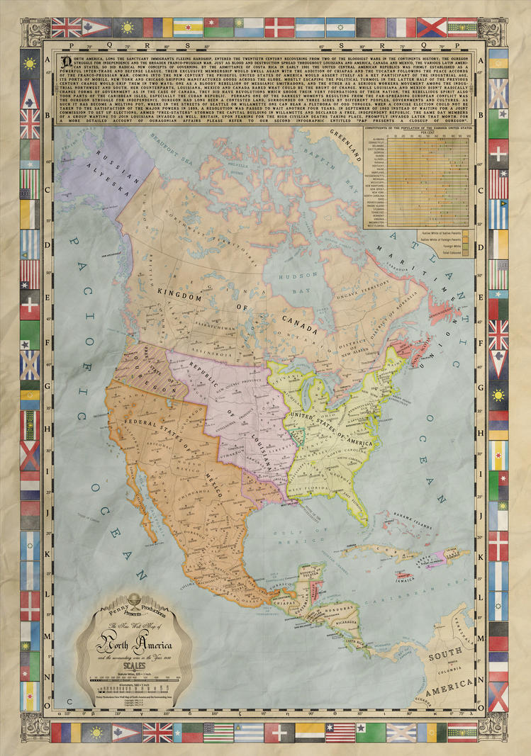 The Gilded Era: North America by Alt-Reality