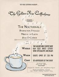 Minimal Fake Concert Poster