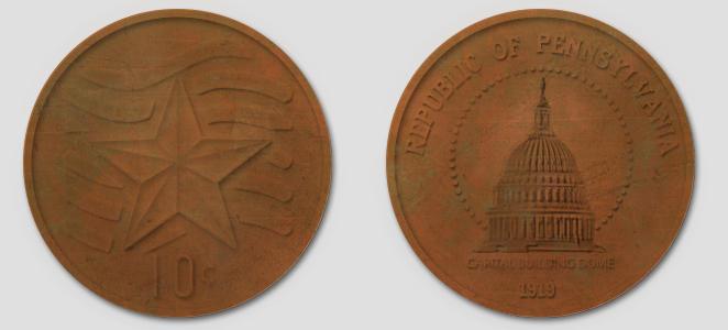 Pennsylvania Ten Cents