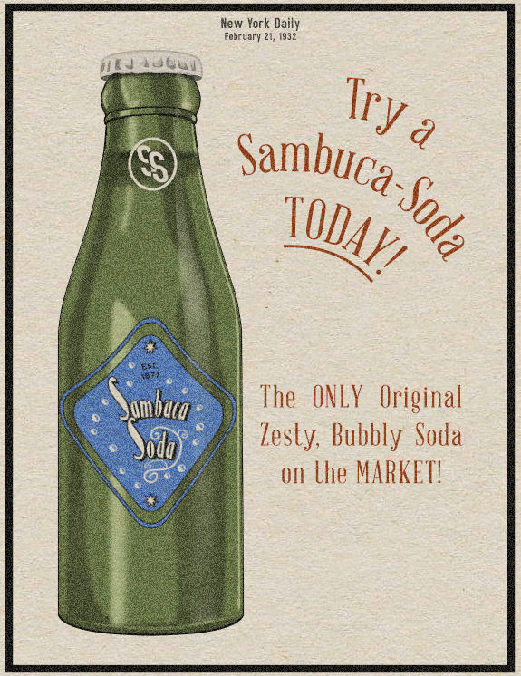 New York Sambuca-Soda by Alt-Reality