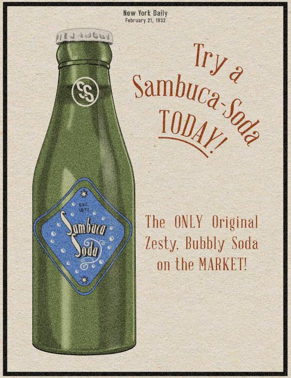 New York Sambuca-Soda by Alt-Reality
