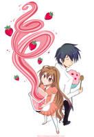 .strawberry milkshake. by loliiypop