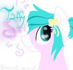 Taffy swirl (headshot) by BrownEyedGirI