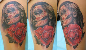 Alluring Day of the Dead Girl
