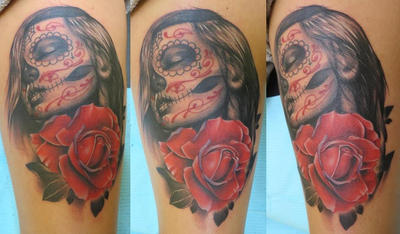 Day of the Dead girl by Dripe