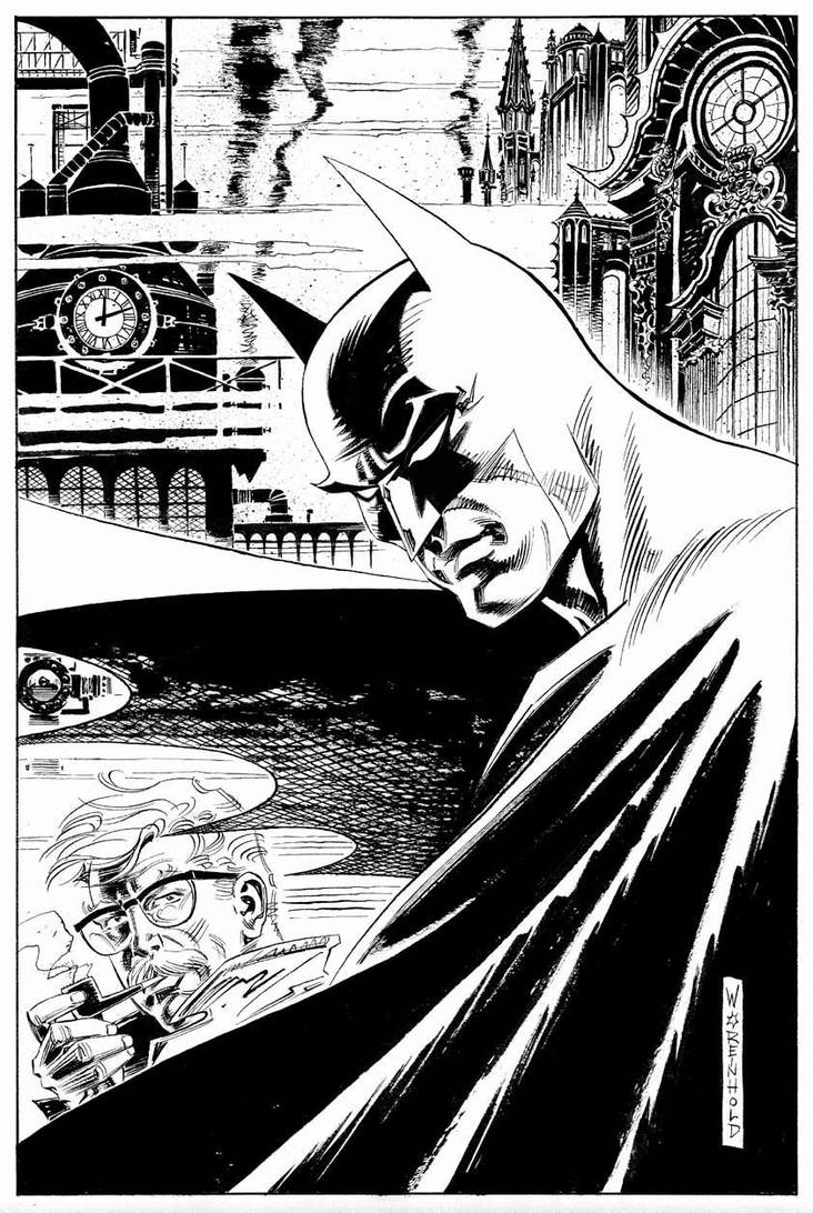 Batman Unpub. by BillReinhold