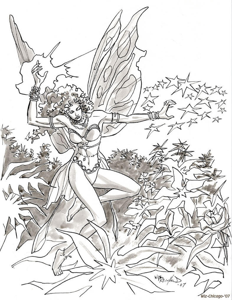 Flower Fairy by BillReinhold