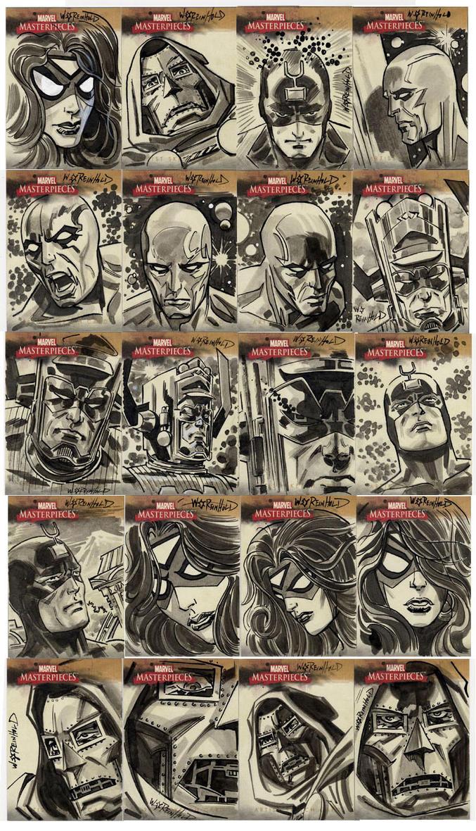 Marvel Masterpieces II A by BillReinhold