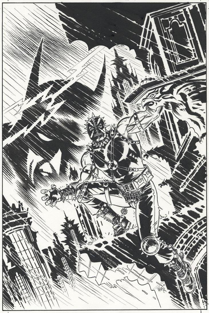 Batman LOTDK_154 Cover by BillReinhold