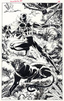 Black Panther 1988 by BillReinhold