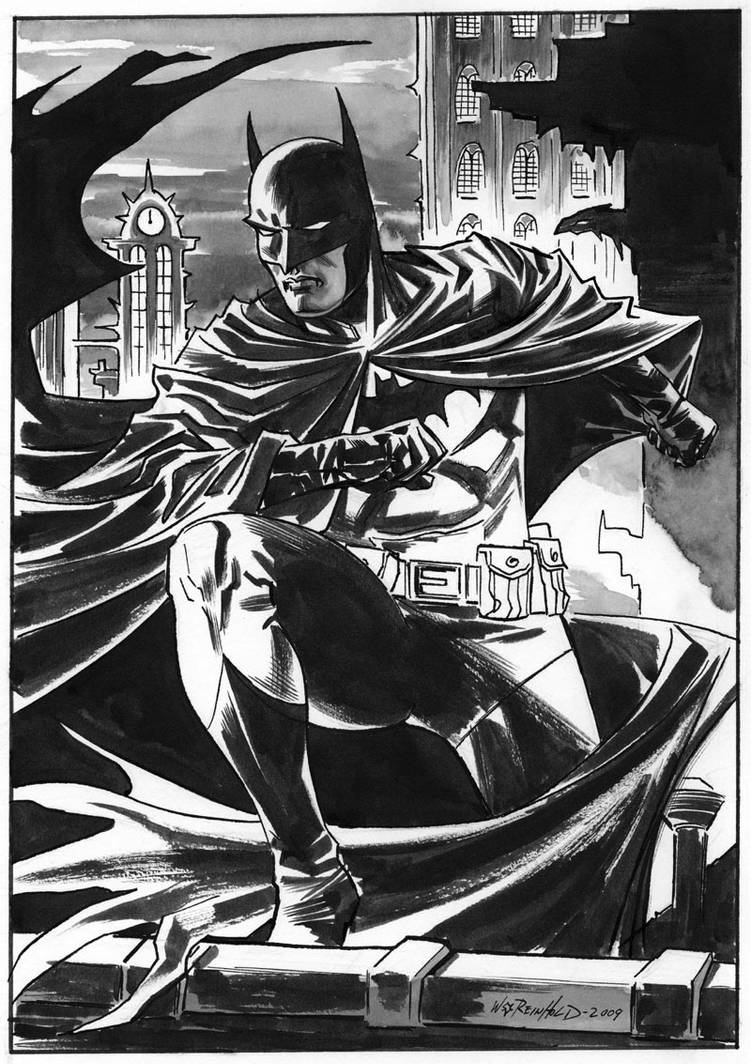 Belgium Batman by BillReinhold