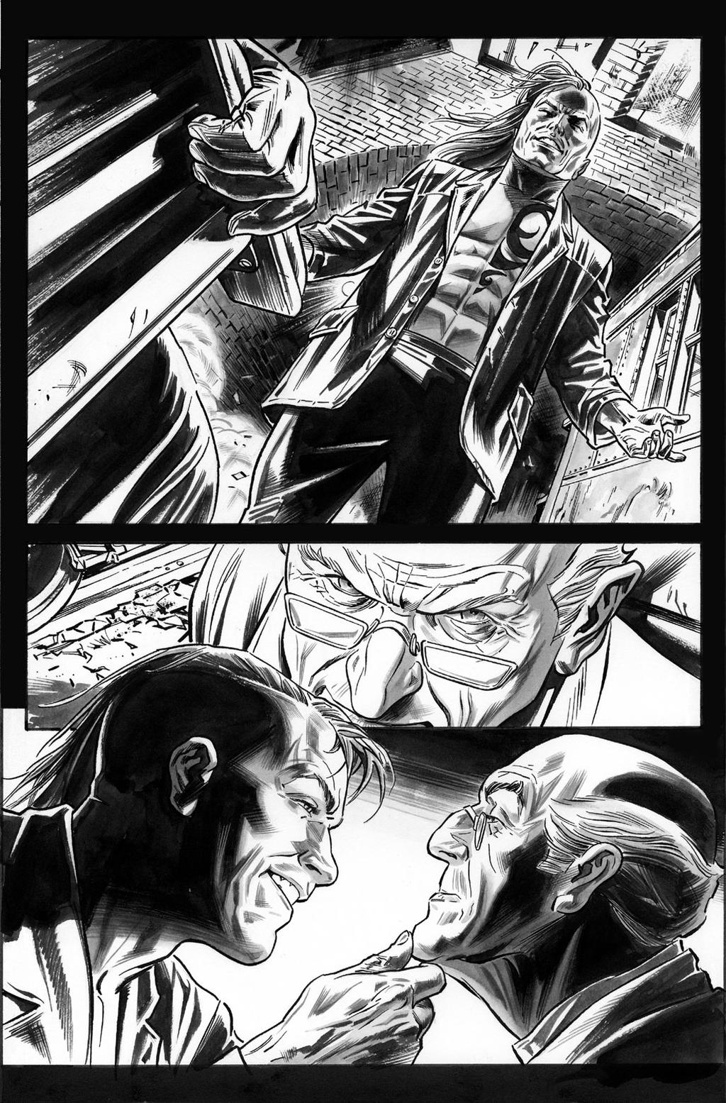 Wolverine Origins 35 p.22 by BillReinhold