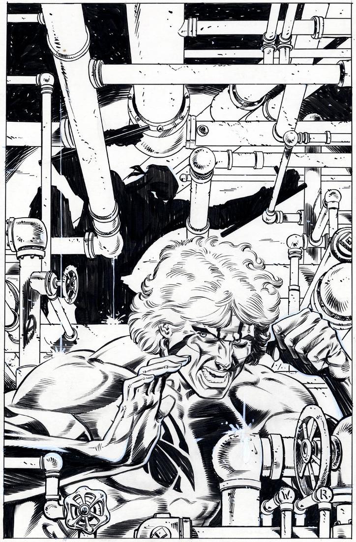 Badger 21 cover 1987 by BillReinhold