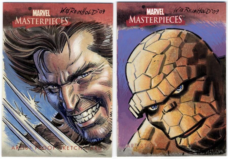 Wolverine Thing MM AP by BillReinhold