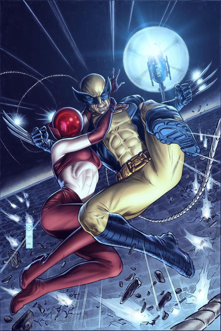 Wolverine Origins 44 Cvr C by BillReinhold