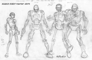 Magnus FCBD Robots by BillReinhold