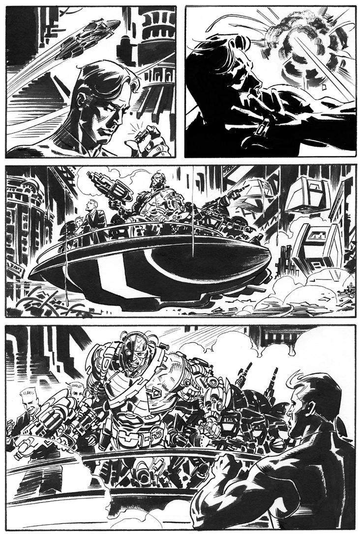 Magnus Robot Fighter 1 p.22 by BillReinhold