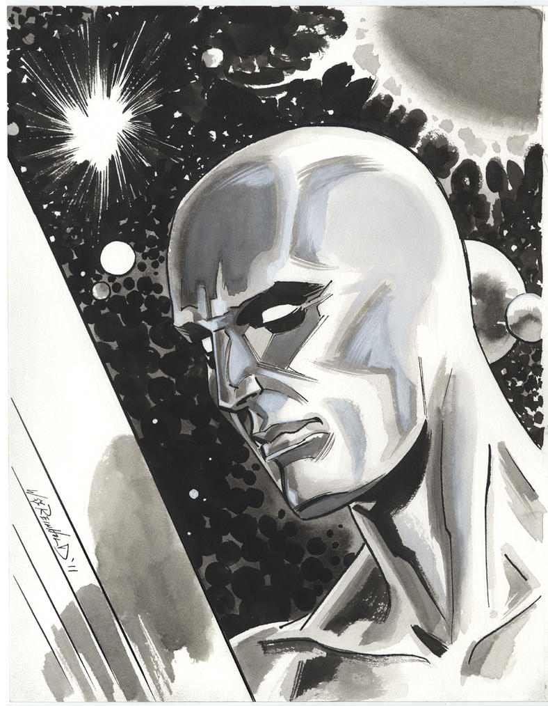 Silver Surfer 2011 by BillReinhold