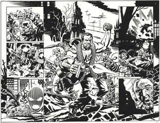 SGT. FURY Howling Commandos by BillReinhold