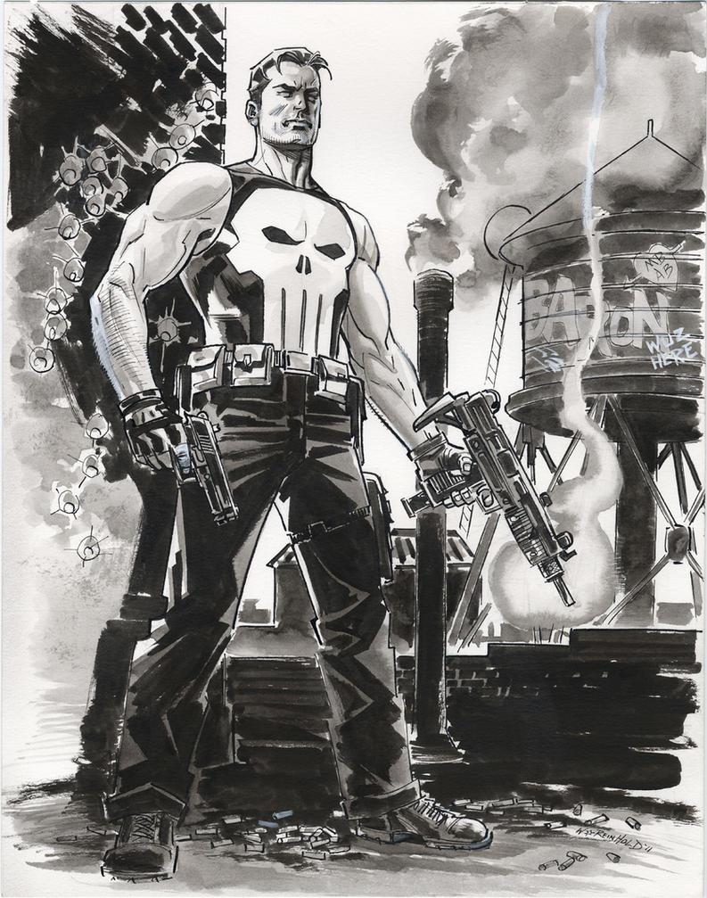 Punisher 2011 Two by BillReinhold