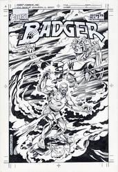 BADGER 6 COVER 1985 by BillReinhold