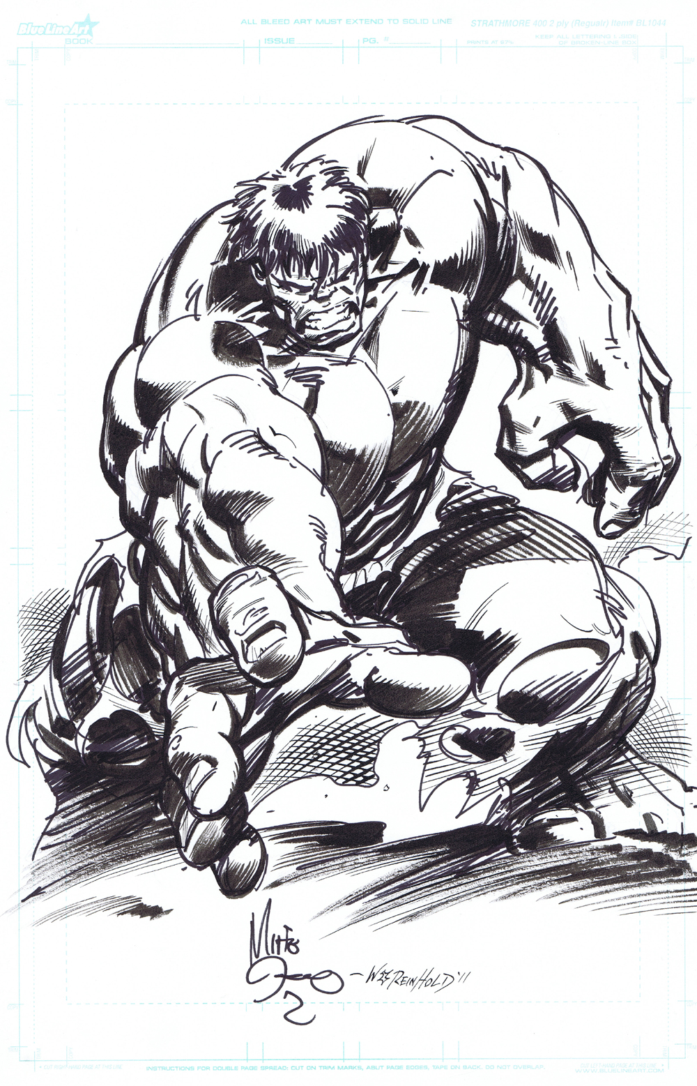 hulk sketch deodato reinhold by billreinhold on deviantart