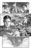 SUPERGIRL 3 p.3 Asrar by BillReinhold