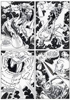 Silver Surfer-Homecoming OGN p.37 by BillReinhold