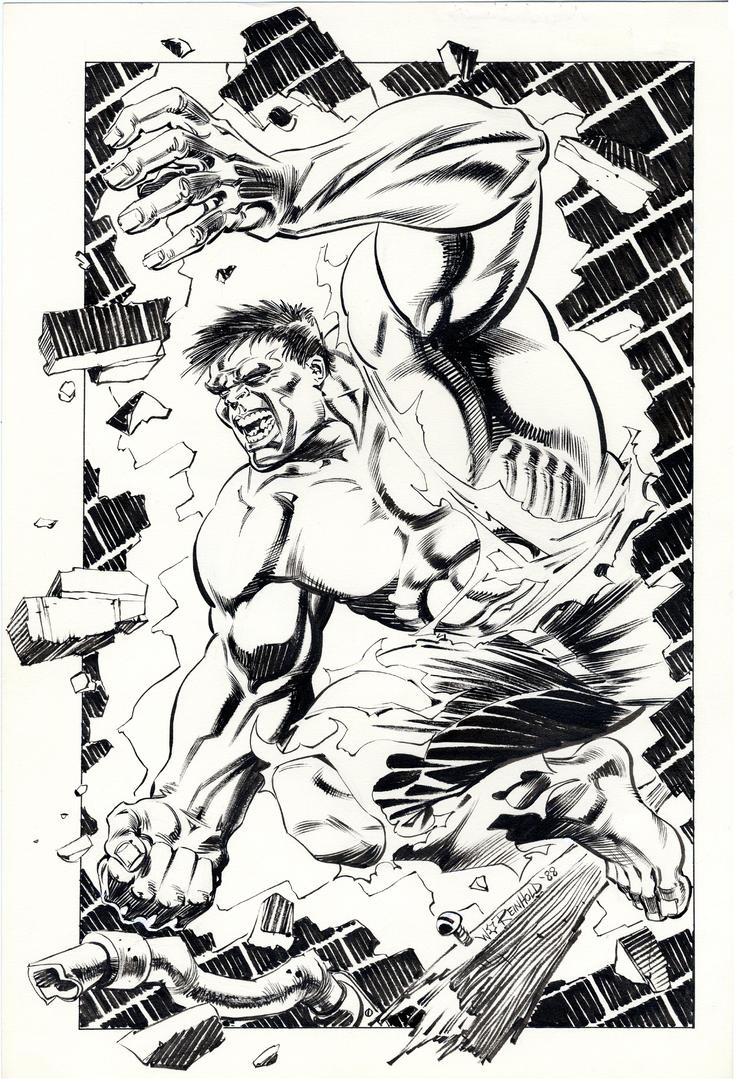 Incredible Hulk 1988 by BillReinhold