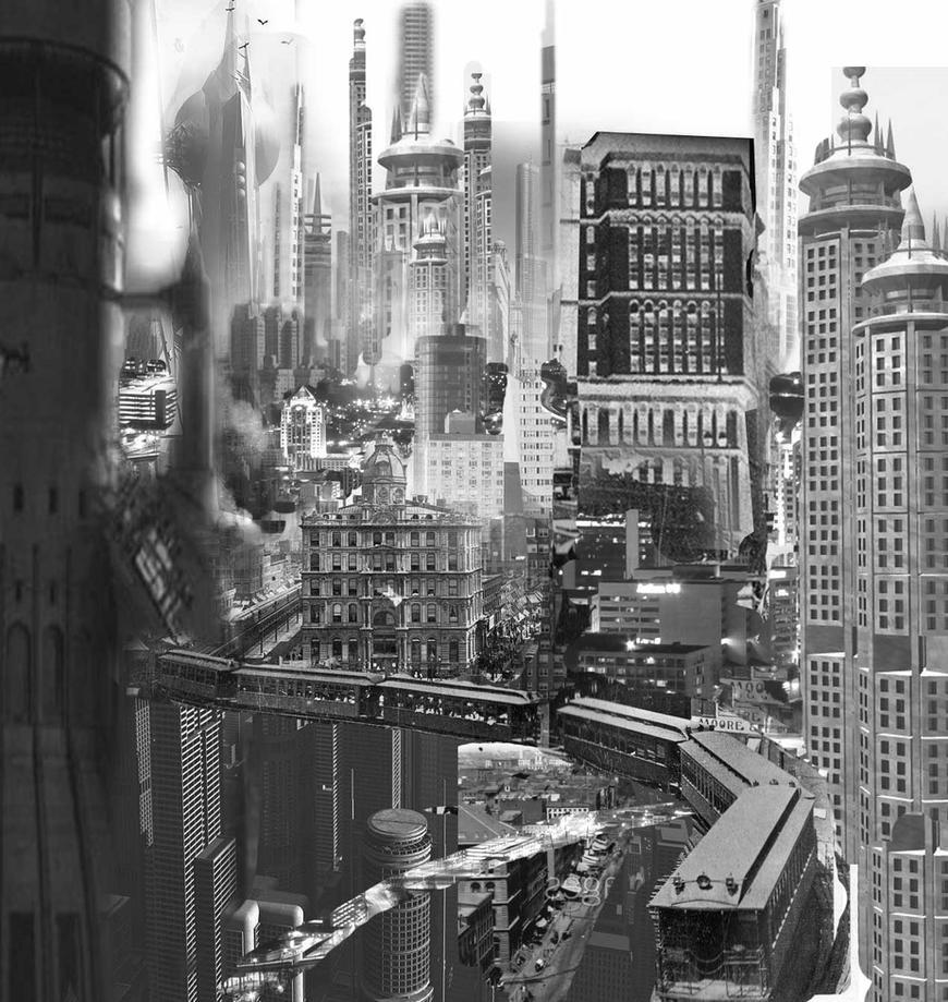 Future City Collage by BillReinhold