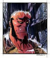 Hellboy Portrait 2012 by BillReinhold
