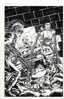 Punisher 33 cover 1990 by BillReinhold