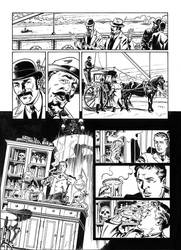 Van Helsing Vs. Jack the Ripper p.10 by BillReinhold