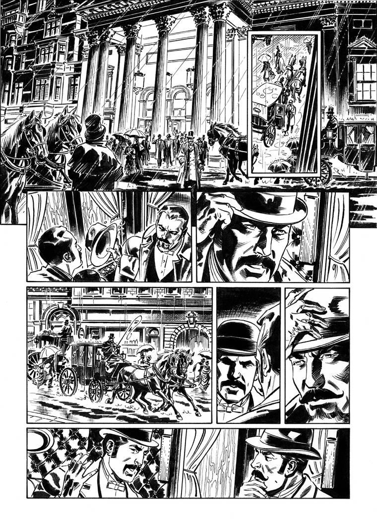 Van Helsing Vs. Jack the Ripper p.12 by BillReinhold