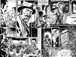 Van Helsing Vs. Jack the Ripper Mash-up 1 by BillReinhold