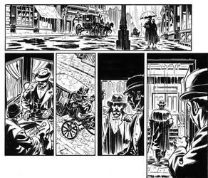 Van Helsing Vs. Jack the Ripper p.13 crop by BillReinhold