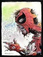 Spider-man Zombie by BillReinhold